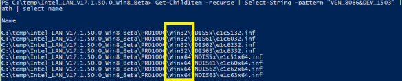 Hacking an Intel network card to work on Server 2012 R2