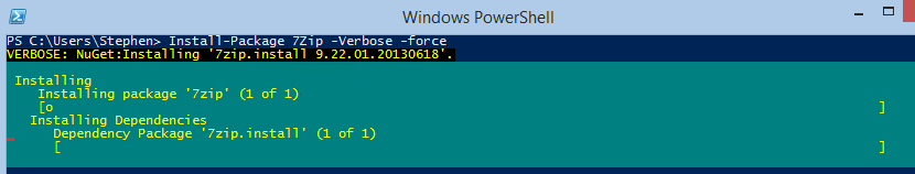 PowerShell Version 5, What's new! (5/5)