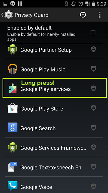 Resolve Google Play Services Keep Awake and wakelocks killing your battery (5/6)