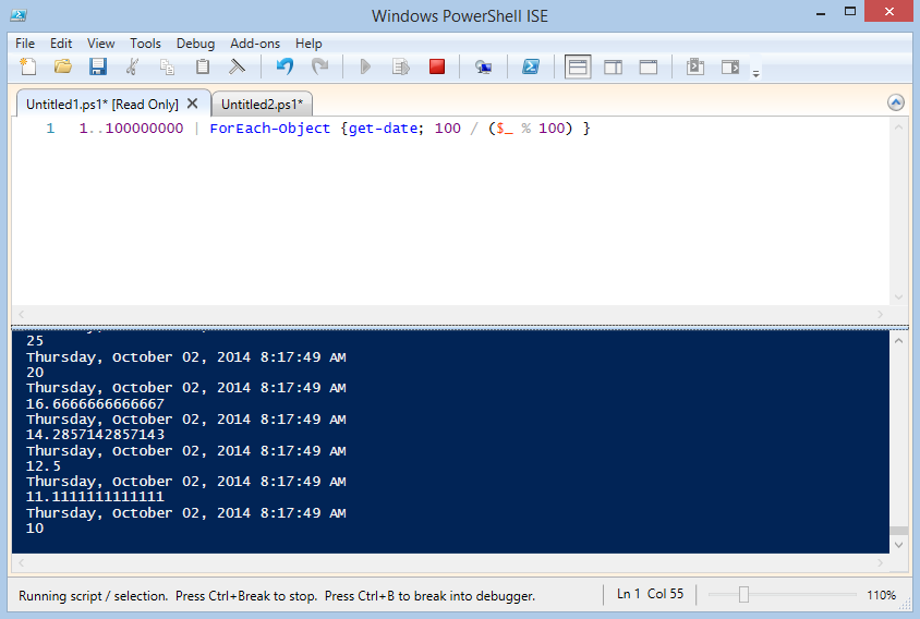 Great new ISE Features in PowerShell 5 0 and Windows 10