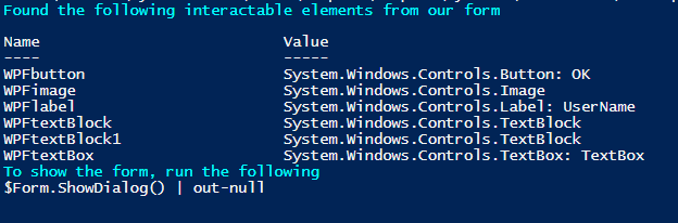 Part II – Deploying PowerShell GUIs in Minutes using Visual