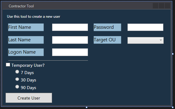 Part III – Using Advanced GUI Elements in PowerShell