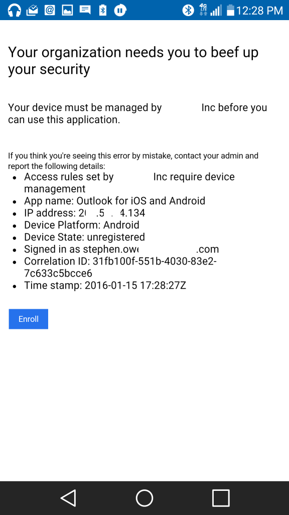 Android_Outlook App