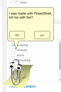Clippy, how I've missed you!