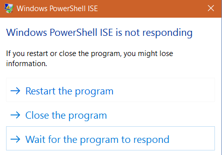 Part V – Building Responsive PowerShell Apps with Progress bars
