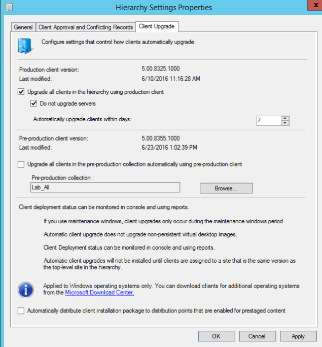 SCCM 1602 – Unable to upgrade client solved – FoxDeploy com