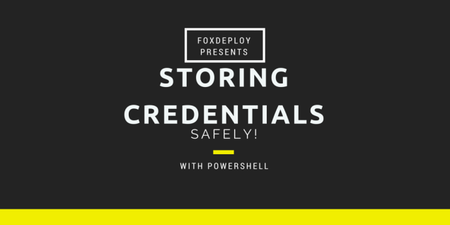 storing Credentials