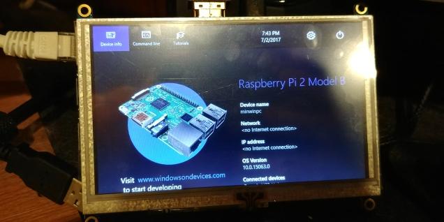 Building a Windows 10 IoT C# traffic monitor: Part I