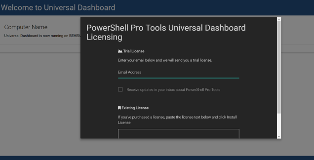 Glorious PowerShell Dashboards – FoxDeploy com